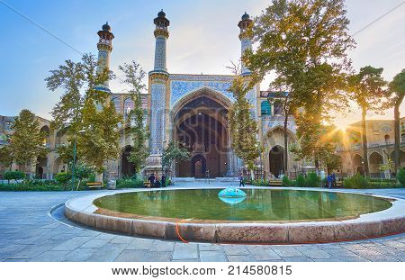 The Scenic Mosques Of Tehran