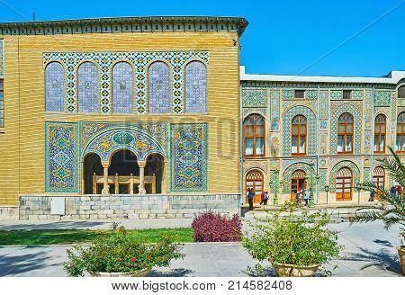 Landmarks Of Old Tehran