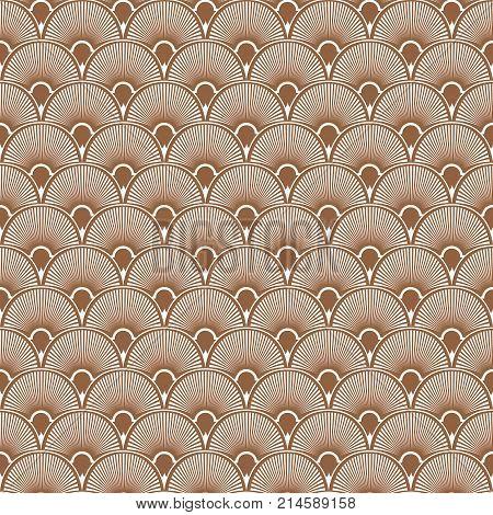 Art Deco Seamless Pattern Background. Vector illustration