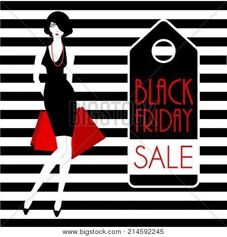 Black Friday Fashion Girl