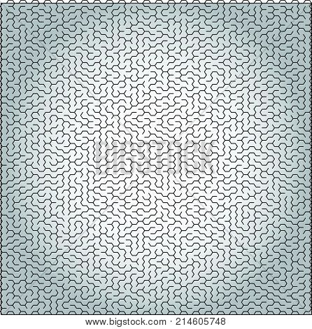 Vector labyrinth background complicated maze illustration isolated over white background