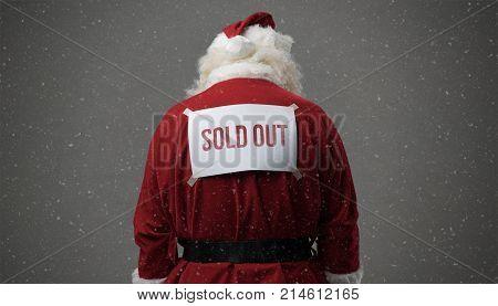 Sold Out Santa