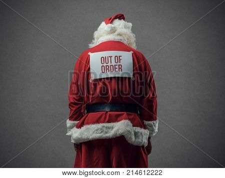 Our Of Order Santa