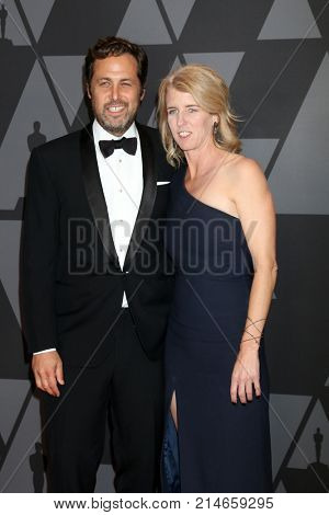 LOS ANGELES - NOV 11:  Mark Baile, Rory Kennedy at the AMPAS 9th Annual Governors Awards at Dolby Ballroom on November 11, 2017 in Los Angeles, CA