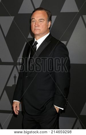 LOS ANGELES - NOV 11:  Jim Belushi at the AMPAS 9th Annual Governors Awards at Dolby Ballroom on November 11, 2017 in Los Angeles, CA