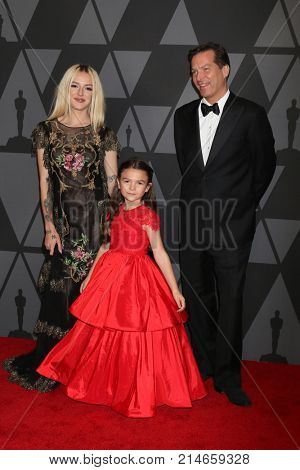 LOS ANGELES - NOV 11:  Brooklynn Prince, Parents_ at the AMPAS 9th Annual Governors Awards at Dolby Ballroom on November 11, 2017 in Los Angeles, CA