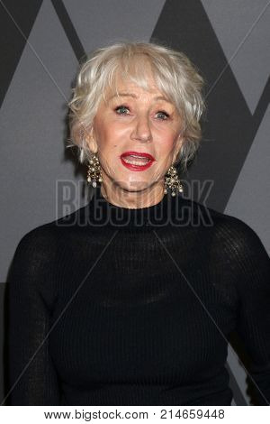 LOS ANGELES - NOV 11:  Helen Mirren at the AMPAS 9th Annual Governors Awards at Dolby Ballroom on November 11, 2017 in Los Angeles, CA