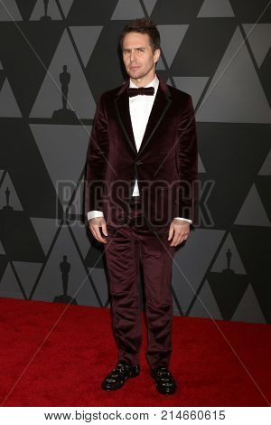 LOS ANGELES - NOV 11:  Sam Rockwell at the AMPAS 9th Annual Governors Awards at Dolby Ballroom on November 11, 2017 in Los Angeles, CA