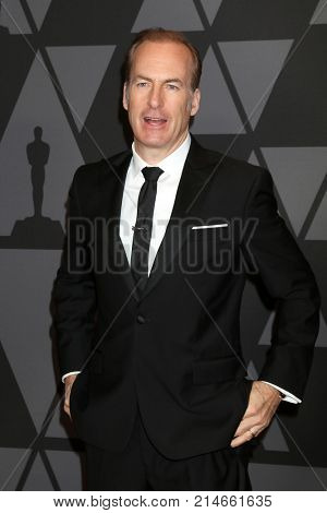 LOS ANGELES - NOV 11:  Bob Odenkirk at the AMPAS 9th Annual Governors Awards at Dolby Ballroom on November 11, 2017 in Los Angeles, CA