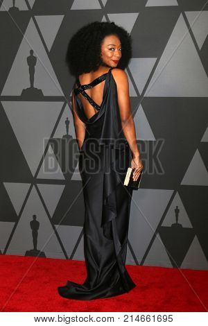 LOS ANGELES - NOV 11:  Betty Gabriel at the AMPAS 9th Annual Governors Awards at Dolby Ballroom on November 11, 2017 in Los Angeles, CA