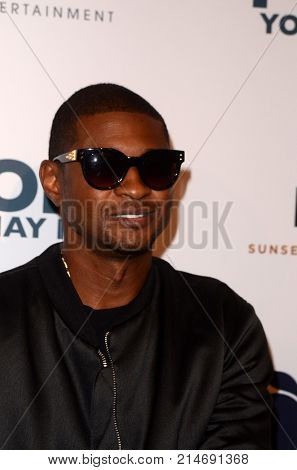 LOS ANGELES - NOV 13:  Usher Raymond IV at the
