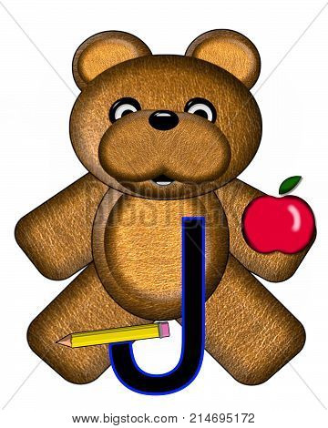 Bear Alphabet Lesson J