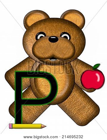 Bear Alphabet Lesson P