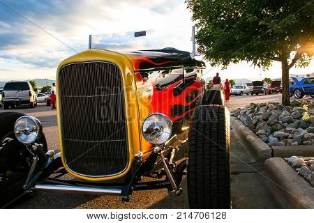 Burger King Classic Car Show In Denver