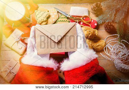 Santa Claus Got A Christmas Letter