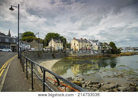 Ardglass Co.Down North Ireland - 14th July 2017 - Ardgass harbour is a Major fishing port in North Ireland