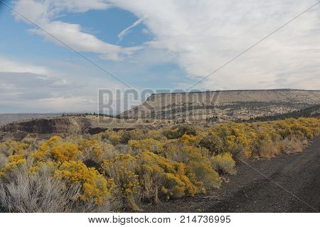 Central Oregon near the Warm Springs Indian Reservation