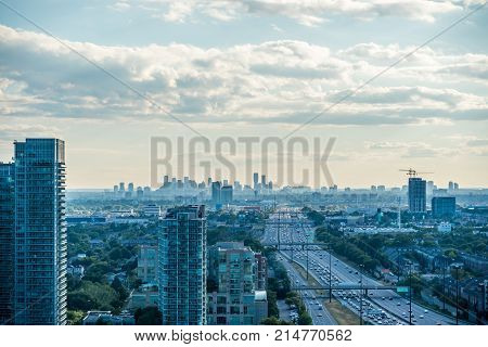 City View In Summer Time
