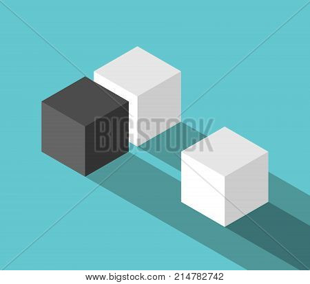 Couple And Odd Cube
