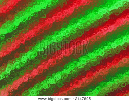 Playful Red And Green Background