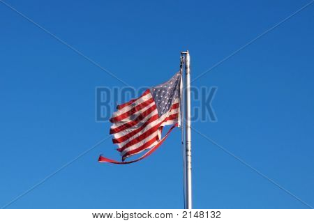 Beat Up Flag