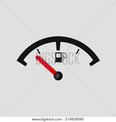 fuel gauge vector icon petrol symbol pump