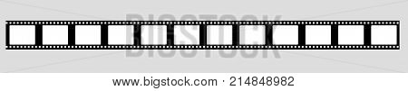 35 mm film strip vector filmstrip vector