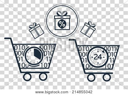 Silhouette Cart  On Online Store