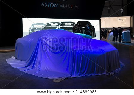 New Aston Martin Car Veiled
