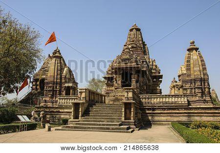 Lakshmana temple Western Temples of Khajuraho India