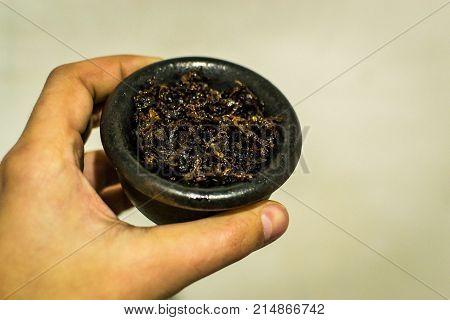 the preparation of hookah hookah smoke hookah photo hookah