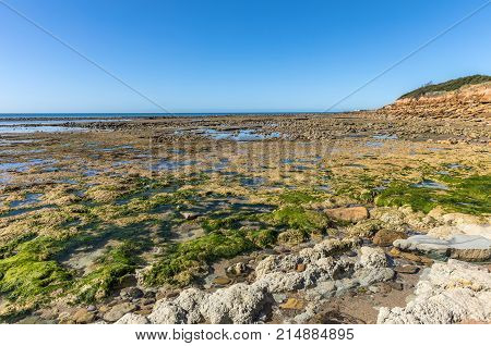 Veillon Foreshore in Talmont Saint-Hilaire (Vendee, France)
