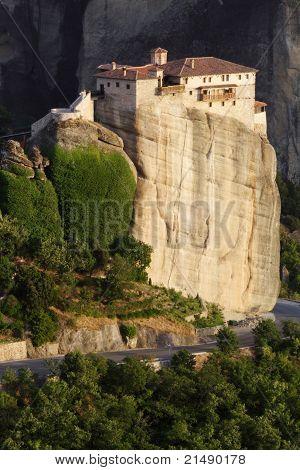 inaccessible monastery