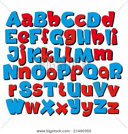 graffiti styled font