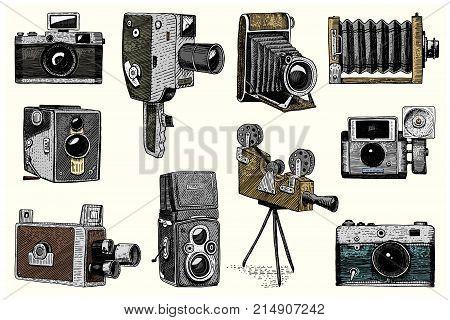 Camera Vintage Vector Free : Photo logo emblem vector & photo free trial bigstock