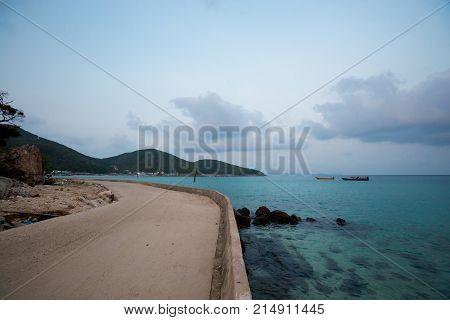 Tropical Landscape Of Koh Larn
