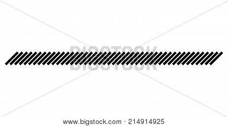 Slash Line Vector Design Footer Modern Border