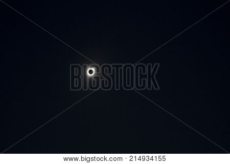 Totality during the 2017 total solar eclipse in Salem, Oregon.