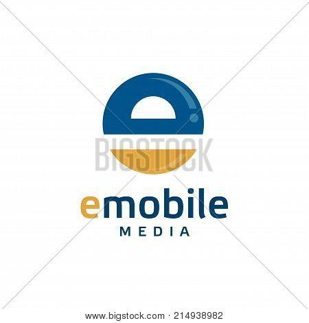 creative letter E logo, Abstract business logo design template, modern Letter E Logo template editable for your business