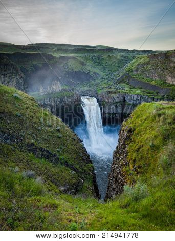 The Palouse Falls in eastern Washington, USA
