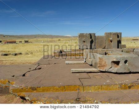 Tiwanaku, Altiplano, Bolivia