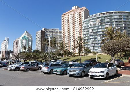 Golden Mile Beachfront In Durban South Africa