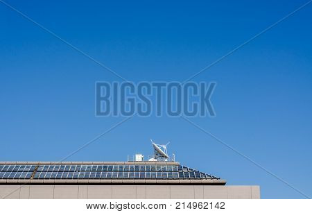 The View Of Telecommunication And Blue Sky