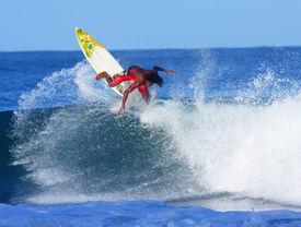 Professional surfer