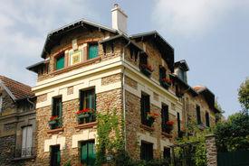 House in Montmartre (Paris, France)