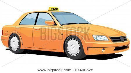 Taxi. My own car design