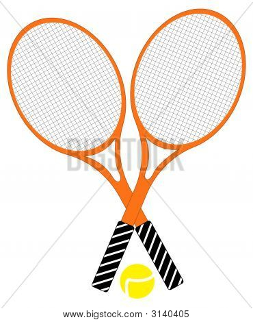 Rackets With Ball