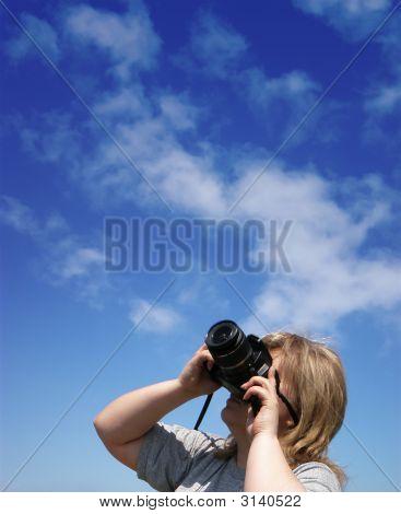 Fotógrafo de estoque