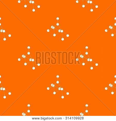 Ethyl Acetate Pattern Vector Orange For Any Web Design Best