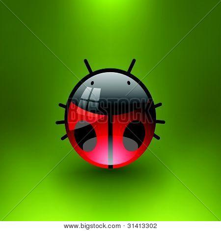 Vector Bug Illustration